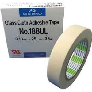 日東 ガラスクロス粘着テープ NO.188UL 25mmX33m