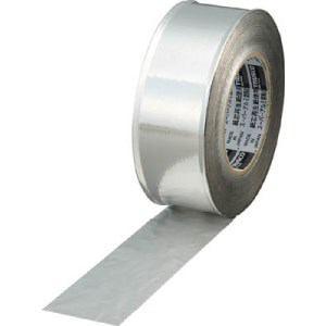 TRUSCO スーパーアルミ箔粘着テープ ツヤあり 幅50mmX長さ50m