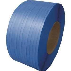 積水 梱包機用PPバンド J-S1タイプ1巻梱包 15.5×2500m ブルー