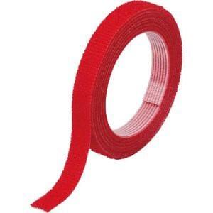 TRUSCO マジックバンド結束テープ 両面 幅10mmX長さ1.5m 赤