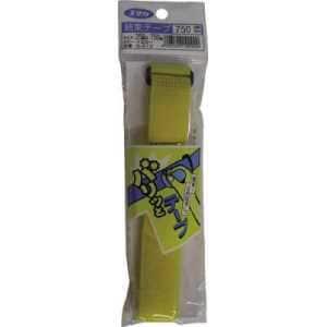 ユタカ マジックテープ 結束テープ 25mm巾×750mm イエロー