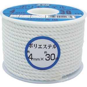ユタカ ロープ ポリエステルロープボビン巻 5mm×30m
