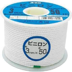 ユタカ ロープ ビニロンロープボビン巻 3φ×50m