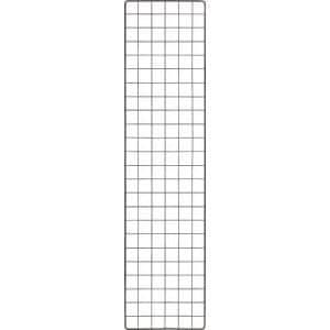 TRUSCO 棚用ディスプレイネット 金具付 300X1200 黒