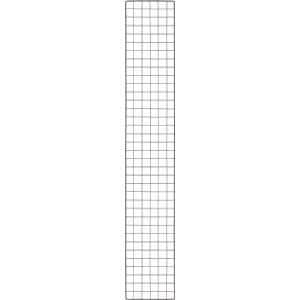 TRUSCO 棚用ディスプレイネット 金具付 300X1800 黒
