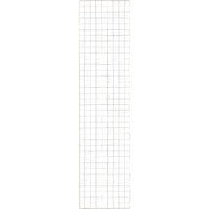 TRUSCO 棚用ディスプレイネット 金具付 450X1800ネオグレー