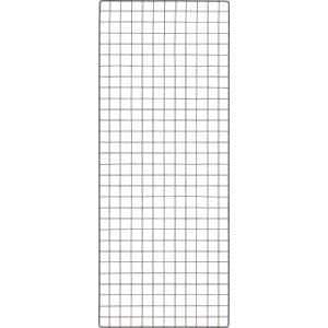 TRUSCO 棚用ディスプレイネット 金具付 600X1500 黒