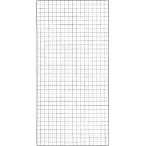 TRUSCO 棚用ディスプレイネット 金具付 900X1800 黒