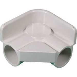 スペーシア プラスチックジョイントPJー607W 白