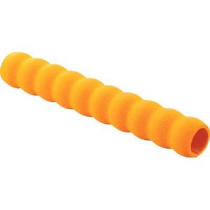 TRUSCO 小型樹脂台車こまわり君用グリップ 内径約22X250 オレンジ