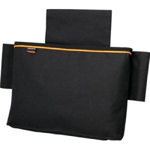 TRUSCO 楽チン台車バッグ マジックテープ式 ブラック