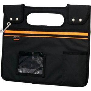 TRUSCO 楽チン台車バッグ マグネット取り付け型 ブラック