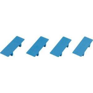 TRUSCO ルートバン用天板パーツセット 4個入り 青