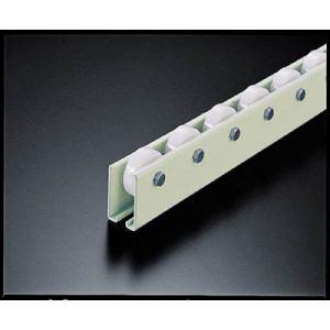 TRUSCO ホイールコンベヤ 樹脂製Φ38X12 P50XL3000
