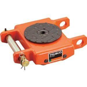 TRUSCO オレンジローラー ウレタン車輪付 低床型 3TON