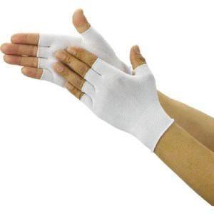 TRUSCO クリーンルーム用インナー手袋ハーフサイズ