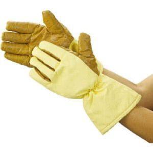 TRUSCO クリーンルーム用耐熱手袋 33CM フリーサイズ