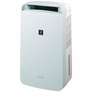 シャープ CM-L100-W 冷風・衣類乾燥除湿機 アイスホワイト 衣類乾燥機