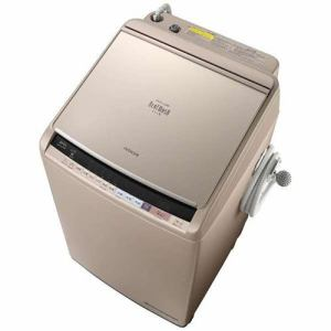 日立 BW-DV100B-N 洗濯乾燥機 (洗濯10.0kg/乾燥5.5kg) 「ビートウォッシュ」 シャンパン