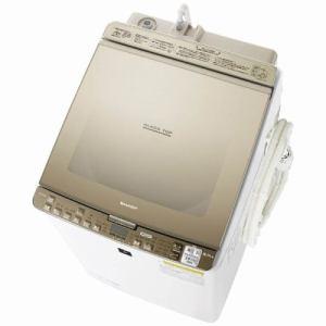 シャープ ES-PX9B-N 洗濯乾燥機 (洗濯9.0kg/乾燥4.5kg) ゴールド系