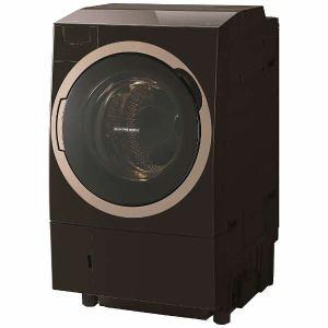 東芝 TW-117X6R-T ドラム式洗濯乾燥機 (洗濯11.0kg/乾燥7.0kg・右開き) 「ZABOON(ザブーン)」グレインブラウン