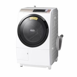 日立 BDT6001LN ヤマダ電機オリジナルモデル ドラム式洗濯乾燥機 (洗濯10.0kg/乾燥6.0kg・左開き) 「ヒートリサイクル 風アイロン ビッグドラム」 シャンパン