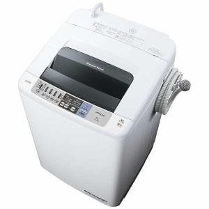 日立 NW-80B-W 全自動洗濯機 (洗濯8.0kg)「白い約束」 ピュアホワイト
