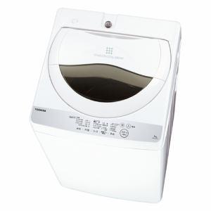東芝 AW-5G6-W 全自動洗濯機 (洗濯5.0kg)グランホワイト