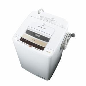 日立 BW-T804-N ヤマダ電機オリジナルモデル 全自動洗濯機(洗濯8.0kg)「ビートウォッシュ」 シャンパン