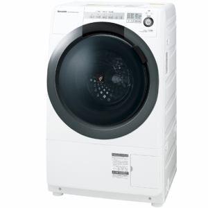 シャープ ES-S7C-WL ドラム式洗濯乾燥機(洗濯7.0kg/乾燥3.5kg・左開き) ホワイト系