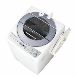 シャープ ES-GV8C-S 全自動洗濯機 (洗濯8.0kg) シルバー