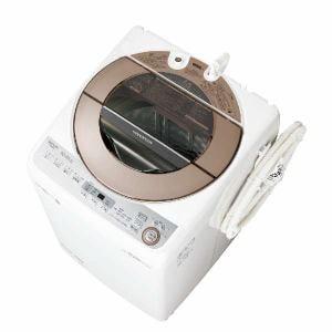 シャープ ES-GV10C-T 全自動洗濯機 (洗濯10.0kg) ブラウン系