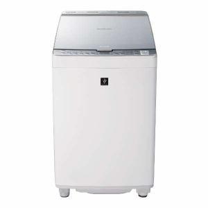 シャープ ES-PX8C-S 縦型洗濯乾燥機 (洗濯8.0kg/乾燥4.5kg) シルバー