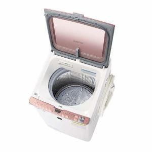 シャープ ES-PX8C-P 縦型洗濯乾燥機 (洗濯8.0kg/乾燥4.5kg) ピンク