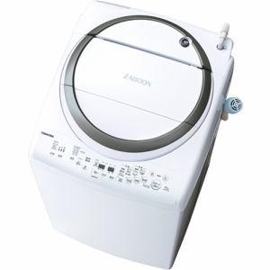 東芝 AW-8V7(S) 洗濯乾燥機 (洗濯8.0kg/乾燥4.5kg) 「ZABOON(ザブーン)」 シルバー