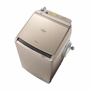 日立 BW-DV100C-N ビートウォッシュ 洗濯乾燥機 (洗濯10.0kg/乾燥5.5kg) シャンパン