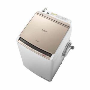 日立 BW-DV80C-N ビートウォッシュ 洗濯乾燥機 (洗濯8.0kg/乾燥4.5kg) シャンパン