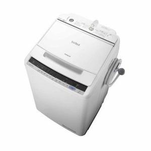 日立 BW-V80C-W ビートウォッシュ 全自動洗濯機 (洗濯8.0kg) ホワイト