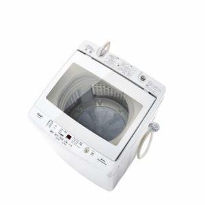 AQUA AQW-GV80G(W) 全自動洗濯機 (洗濯8.0kg) ホワイト