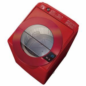 AQUA AQW-LV80G(R) 全自動洗濯機 (洗濯8.0kg) シャイニーレッド
