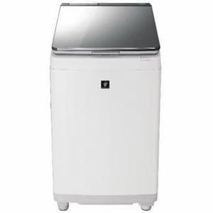 シャープ ES-PU11C-S 縦型洗濯乾燥機 (洗濯11.0kg/乾燥6.0kg) シルバー系