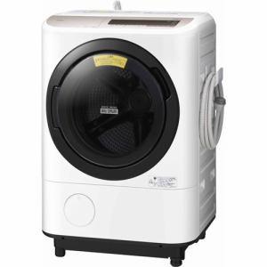 日立 BD-NV120CL ドラム式洗濯乾燥機 (洗濯12.0kg /乾燥6.0kg ・左開き) シャンパン