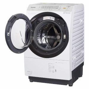 パナソニック NA-VX3900L-W ドラム式洗濯乾燥機 (洗濯10.0kg /乾燥6.0kg・左開き) VXシリーズ クリスタルホワイト