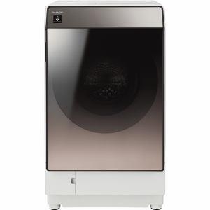 シャープ ES-U111-TR ドラム式洗濯乾燥機 洗濯11.0kg/乾燥6.0kg ブラウン系 右開き