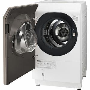 シャープ ES-G111-NL ドラム式洗濯乾燥機 (洗濯11.0kg /乾燥6.0kg・左開き) ゴールド系