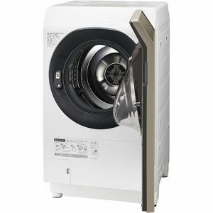 シャープ ES-G111-NR ドラム式洗濯乾燥機 (洗濯11.0kg /乾燥6.0kg・右開き) ゴールド系