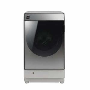 シャープ ES-W111-SL ドラム式洗濯乾燥機(洗濯11.0kg/乾燥 6.0kg・左開き) シルバー系