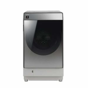 シャープ ES-W111-SR ドラム式洗濯乾燥機(洗濯11.0kg/乾燥6.0kg・右開き) シルバー系
