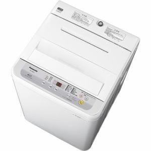パナソニック NA-F60B12-S 全自動洗濯機 6kg シルバー