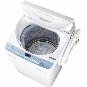 シャープ ES-T711-W 全自動洗濯機 (洗濯7.0kg) ホワイト